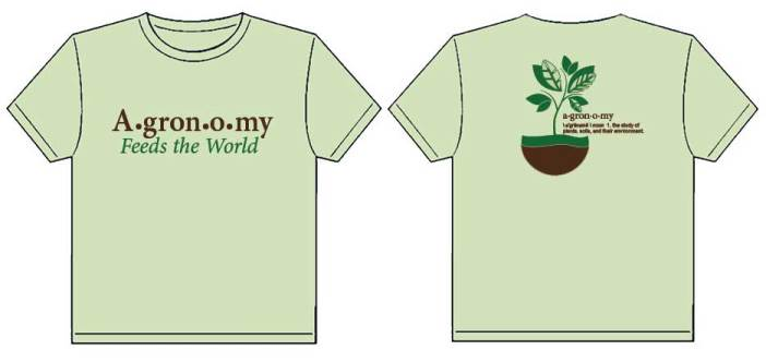 National ag day t shirts american society of agronomy for T and t soils