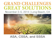 ASA, CSSA, SSSA Annual Meetings