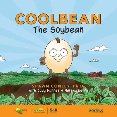 Cover of book, Cool Bean the Soybean
