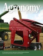 agronomy journal cover image