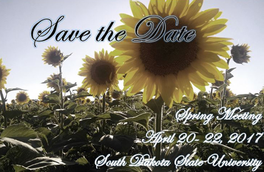 SDSU Spring Meeting. Save the Date!